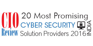 20 Most Promising Cyber Security Solution Providers - 2016