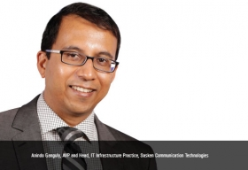 Anindo Ganguly, AVP and Head, IT Infrastructure Practice, Sasken Communication Technologies
